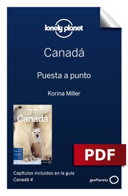 Canadá 4. Preparación del viaje