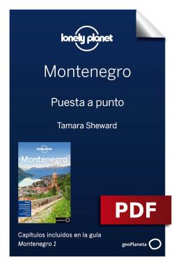Montenegro 1. Preparación del viaje