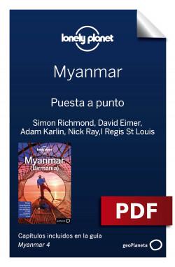 Myanmar 4. Preparación del viaje